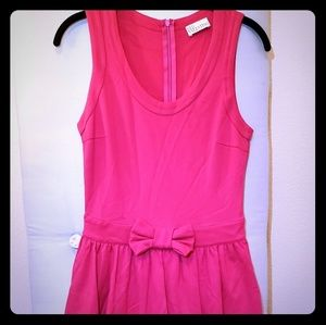 Red Valentino Bubble Hem Dress